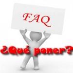 que_poner_faq_blog