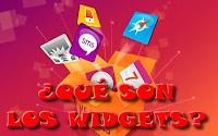 ¿Qué son los widgets?