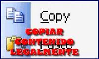 Copiar contenido legalmente.